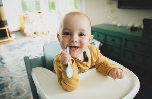 enfant qui sourit